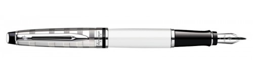Waterman Expert DeLuxe White CT