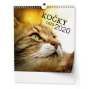 BNO1 Nástěnný kalendář - IDEÁL - Kočky 2020