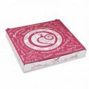 Krabice na pizzu z vlnité lepenky 20 x 20 x 3 cm [1 ks]