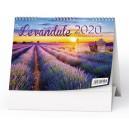 BSV5 Stolní kalendář - Levandule 2020