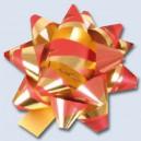 Hvězdička metálová 50mm mix barev 121898