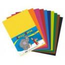 Karton kreslicí barevný A4 180g / 50listů