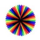 Obří vějíř barevný Ø 110 cm [1 ks]