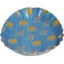 Papírové talíře vajíčko 18 x 25 cm VELIKONOCE. 2 ks