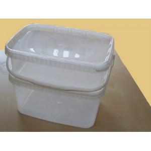 Plastové vědro s víkem - JETR35 objem 3,6 litru