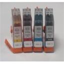 Inkoustová cartridge Canon BCI 21/24BK, PIRANHA, černá, 9ml