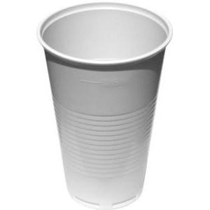 Plastový kelímek bílý 0,5 l -PP- (p. 95 mm) [1 ks]