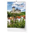 BNK0 Nástěnný kalendář A3 - Česká republika 2020