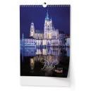 BNK1 Nástěnný kalendář A3 - Praha 2020