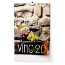 BNF1 Nástěnný kalendář A3 - Víno 2020
