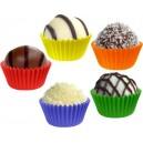 Cukrářské košíčky barevné mix 24 x 19 mm [200 ks]