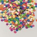 Konfety papírové, barevný mix 100 g [1 bal]