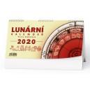 BSC8 Lunární  týdenní stolní kalendář Pavla Skácela 2020