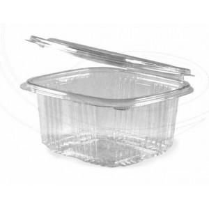 Miska oválná průhledná s víčkem 1000 ml (PET) (1ks)