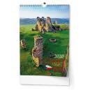 BNK3 Nástěnný kalendář A3 - Český ráj 2020
