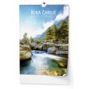 BNK6  Nástěnný kalendář A3 - Řeka čaruje 2020