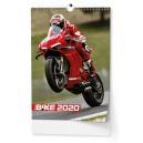 BNE1  Nástěnný kalendář A3 - Motorbike 2020