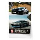 BNE0  Nástěnný kalendář A3 - Superauto 2020