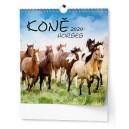 BNO4 Nástěnný kalendář - IDEÁL - Koně 2020
