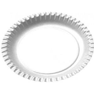 Papírové talíře mělké 23 cm [100 ks]