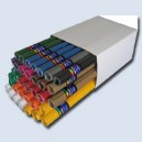 Hobby papír vlna E 500x700mm mix barev 260gm