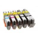 Inkoustová cartridge Canon CLI-551C,kompatibilní modrá, 12ml
