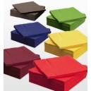 Ubrousky barevné 1-vrstvé, 33 x 33 cm [100 ks]