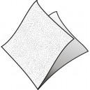 Ubrousky bílé [100 ks] 1-vrstvé, 30 x 30 cm