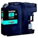 Inkoustová cartridge BROTHER LC123C kompatibilní modrá