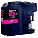 Inkoustová cartridge BROTHER LC123M kompatibilní červená