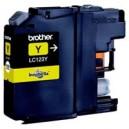 Inkoustová cartridge BROTHER LC123L kompatibilní žlutá