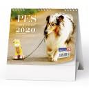 BSL7 Stolní kalendář - IDEÁL - Pes, věrný přítel 2020