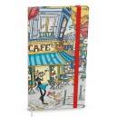 JAKUB - kapesní týdenní 2020 LAMINO Café + gumička